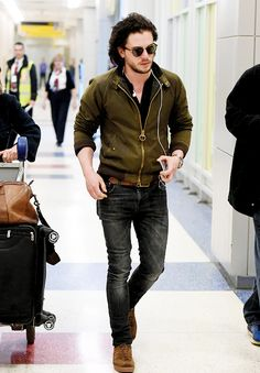 Game Of Thrones' Kit Harington arrives in NYC ahead of season premiere