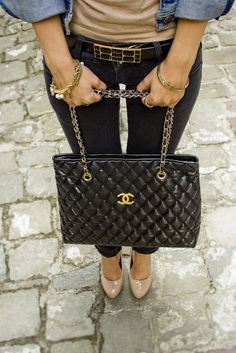 classic chanel. I will own one of these bags before I die !
