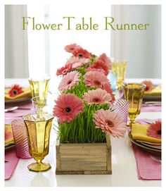 gerber daisies  ...that are PINK!  Love them!