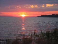 Bois Blanc Island Sunset