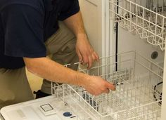 Gaskets and seals can dry out over time and develop cracks, which eventually cause the dishwasher to leak. You should check all the gaskets and seals—especially the main door gasket—on a regular basis to make sure that the rubber is still pliable, and replace if necessary.