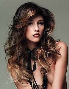 Amazing Brown Hair With Blonde Black And Blonde And Dark Brown On Pinterest Short Hairstyles Gunalazisus