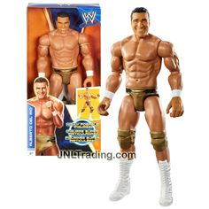 Mattel Year 2013 World Wrestling Entertainment WWE Series 12 Inch Tall Highly Poseable Wrestler Figure - ALBERTO DEL RIO