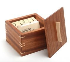 simple wooden box designs | Build a Beautiful Recipe Box with Mitered Corners | Startwoodworking ...