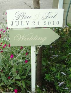 Wedding Directional Signs FEATURED in the May/June issue of Destination Weddings & Honeymoons