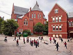 USA St-Mary - Les cours d'école à travers le monde
