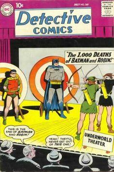 Batman - Robin - Target - Arrow - The 1000 Deaths Of Batman And Robin