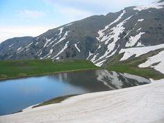 Dragon lake at Smolikas mountain, Epirus region Stone Houses, Lakes, Greece, Hiking, Rest, Dragon, Mountains, Holiday, Travel