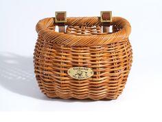 Cisco Collection Wicker Basket Mahogany Half Circle   Beach Bikes