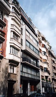 Corb apt apartment house at the porte molitor paris for Le molitor paris