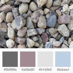Weekly Colours Inspiration – Stones: purple, blue and gray    Varró Joanna Design   Corporate Identity   Branding   Graphic Design   Inspiration   Graphic Designer