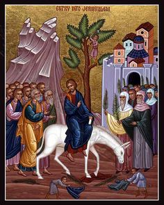 palm sunday art - Google Search