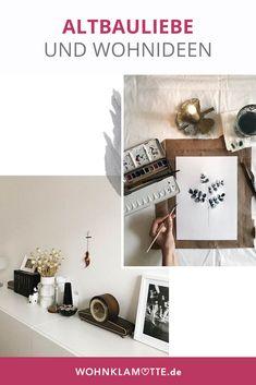 """Die wunderschöne Wohnung von """"inlovewithseptember"""" in Ihrer Hamburger Altbauwohnung lädt zum Schwärmen ein und wird durch persönliche Souvenirs und Zeichnungen zu einem echten Ort vieler verschiedener Inspirationen und Entdeckungen. Stöbert doch einfach selbst durch ihren wunderbaren Feed auf Instagram, der durch warme und gedeckte Farbtöne ein tolles Gesamtbild abgibt. (Bild via inlovewithseptember)"""