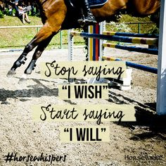 Weekday Motivation for the competition season! ‪#‎horsewhispers‬