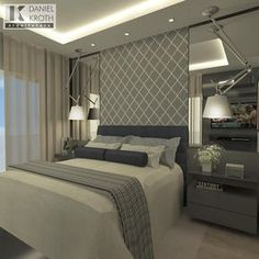 If you have ever thought about redecorating your bedroom and tried to find some options online to create a master bedroom, take a look at the board and let you inspiring! See more clicking on the image. Master Bedroom Design, Home Bedroom, Modern Bedroom, Bedroom Decor, Bedroom Designs, Couple Bedroom, Luxury Decor, Suites, Beautiful Bedrooms