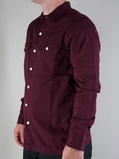 CARHARTT  I012829 MASTER SHIRT  Camicia Manica Lunga - winered  € 76,00  MORE INFOS: http://www.moveshop.it/ecommerce/index.php/it/articolo/29269/6115/I012829%20MASTER%20SHIRT