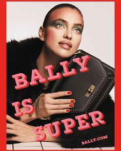 BALLY IS SUPER 'Bally is Super' is pasted across the 80s-inspired vibrant images for @bally's Spring/Summer 2017 collection with supermodel Irina Shayk. The upbeat mood and popping colours bring up memories of MTV Andy Warhol's Interview Magazine and Pop Art. #zoomagazine #bally #ballyissuper #springsummer2017 #irinashayk  via ZOO MAGAZINE OFFICIAL INSTAGRAM - Celebrity  Fashion  Haute Couture  Advertising  Culture  Beauty  Editorial Photography  Magazine Covers  Supermodels  Runway Models