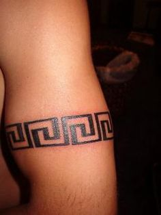 I need this greek key in my life ans on my body no bs