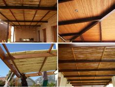Go bamboo, go DIY home décor for your ceiling…with Brightfields' mozo poles, you can!  If you have ceiling that is an eyesore and are no longer willing to have your eyes assaulted by their unsightliness, it seems this bamboo expert might have the solution for you – a pergola. And, it's easy enough to do as a DIY project!