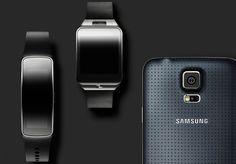 شاهد فيديوهات سامسونج الرسمية للـ Galaxy S5 و Gear 2 و Gear Fit و تعرف علي خواص و مميزات الثلاثة