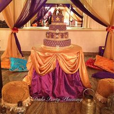 We Heart Parties: Party Information - Indian Themed Sweet 16 Indian Party Themes, Indian Theme, Indian Style, Arabian Party, Arabian Nights Party, Sweet 16 Birthday, 16th Birthday, Birthday Parties, Birthday Ideas