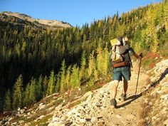 continental crest trail | Trail to Cutthroat Pass