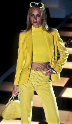 Carla Bruni  - Versace Runway Show 1996