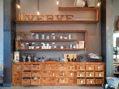 We never tire of this lovely setting at Verve Coffee Roasters -- Santa Cruz, CA | Flickr - Photo Sharing!
