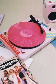 EP-33 Bluetooth Turntable With Speakers - Pinky Swear