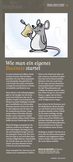 Wie man ein eigenes Business startet