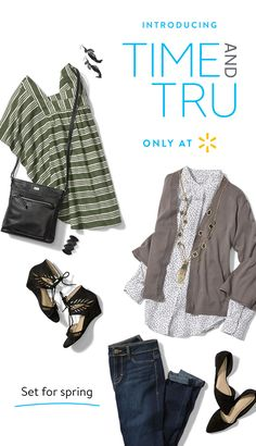 63bd18384 Every day's a stylin' day with Time and Tru Women's apparel. Start with  Indigo