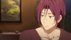 "whitechoko: ""Can you believe there are people in this fandom that believes Rin is nothing else but a hungry abusive predator "" Anime Guys, Manga Anime, Rin Matsuoka, Free Eternal Summer, Free Iwatobi Swim Club, Kurotsuki, Free Anime, Free Baby Stuff, Anime Style"