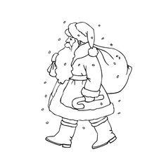 Coloriage Père Noël 2 Ans a Imprimer Gratuit   Coloriage noel, Noel et Coloriage