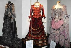Costumes used in the Phantom of the Opera (the movie).