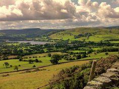Le parc national de Peak District, Derbyshire (Angleterre)  