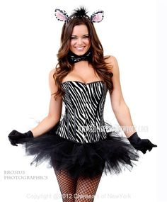 Sexy zebra print costume.  sc 1 st  Pinterest & 67 best Halloween Costumes !!! images on Pinterest | Carnivals ...