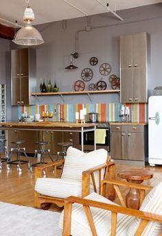Sarah 101 - loft kitchen