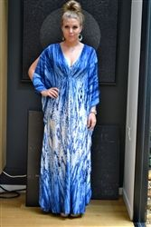 Blue Goddess Kaftan  I bought an Annalisa kaftan for my wedding.. it's what inspired me to venture into jersey kaftans.. love to Annalisa!