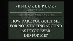 Knuckle Puck | Pretense