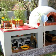 I want a pizza/bread oven