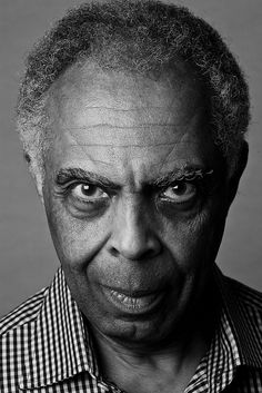 Gilberto Gil (born Gilberto Passos Gil Moreira, 1942) - Brazilian singer, guitarist, songwriter, known for both his musical innovation and political commitment. Photo by Jorge Bispo