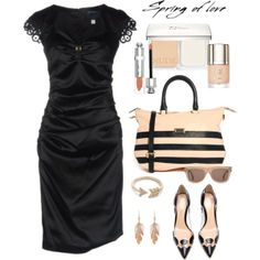 """""""Touch of Nude"""" by jacque-reid on Polyvore"""