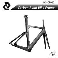 2017 OG-EVKIN New carbon bicycle road Matt/Glossy aero track frame carbon parts BB386 45/48/50/52/54/56cm