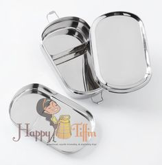 Happy Tiffin, Oval Office Bento Box with Center Section