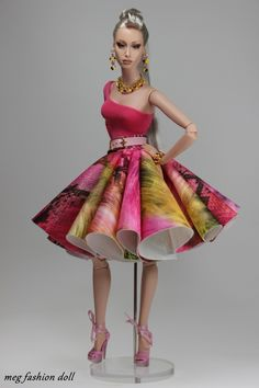 new outfit for Sybarite/meg fashion doll / 39.25.6