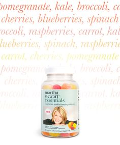 Introducing the new Martha Stewart Essentials Vegetarian Multivitamin Gummies! These preservative and gluten free supplements are a delicious way to help you live a healthy and balanced life #vegetarian #glutenfree