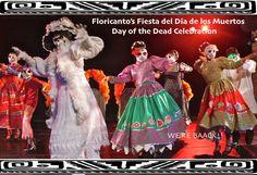 """Los Angeles, CA ~ """"Fiesta del Dia de los Muertos"""" at Floricanto Center for the Performing Arts."""