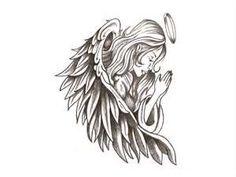 Praying Angel Tattoo Wallpaper