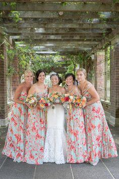 Fl Print Bridesmaids
