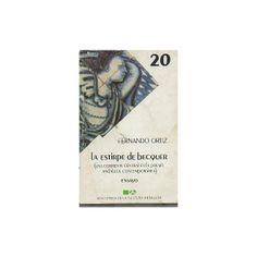 La estirpe de Becquer : (una corriente central en la poesía andaluza contemporánea). Sevilla : Editoriales Andaluzas Unidas, 1985 http://fama.us.es/search~S5*spi?/tLa+estirpe+de+B{u00E9}cquer/testirpe+de+becquer/1%2C2%2C2%2CB/frameset&FF=testirpe+de+becquer+una+corriente+central+en+la+poesia+andaluza+contemporanea&1%2C1%2C/indexsort=-
